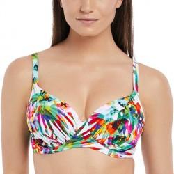 Fantasie Margarita Island Gathered Full Cup Bikini - White Pattern-2 * Kampagne *