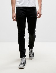 Farah Drake Slim Fit Jeans in Black - Black