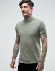 Farah Farris Slim Fit Logo T-Shirt Green - Green
