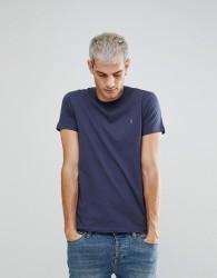 Farah Farris Slim Fit Logo T-Shirt Navy - Navy