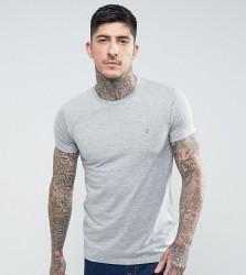 Farah Farris Slim Fit T-Shirt In Grey - Grey