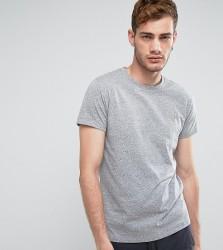 Farah Gloor Marl Slim Fit T-Shirt In Grey - Grey