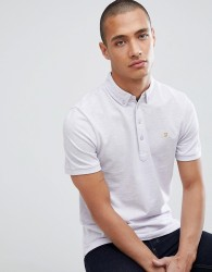 Farah Merriweather slim fit polo in lilac - Purple