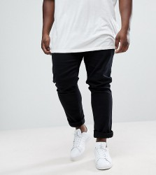 Farah PLUS Drake Slim Fit Jean In Twill - Black