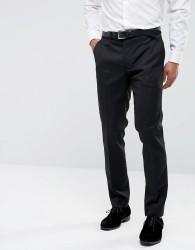 Farah Skinny Tuxedo Suit Trousers - Black