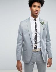 Farah Skinny Wedding Suit Jacket in Mint - Green
