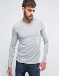 Farah Southall Super Slim Muscle Fit Long Sleeve T-shirt Grey - Grey
