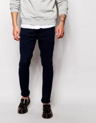 Farah Stretch Jean In Slim Fit - Blue