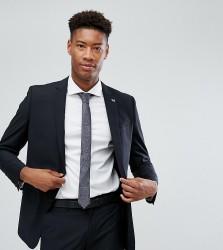 Farah TALL Skinny Suit Jacket In Black - Black