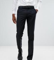 Farah TALL Skinny Suit Trousers In Black - Black