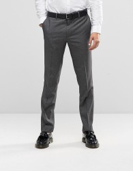 Farah The Pullman Suit Trouser - Grey