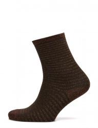 Fashion Ankel Sock With Lurex