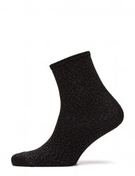 Fashion Ankel Sock With Lurex