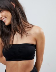 Fashion Forms Basic Bandeau Bra - Black