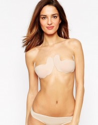 Fashion Forms Ultimate Boost Backless and Strapless Stick On Bra - Beige