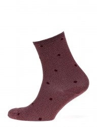 Fashion Low Cut Sock With Lurex