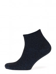 Fashion Low Cut Sock With Lurex