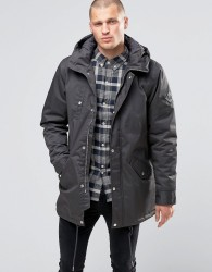Fat Moose Outskirts Parka Quilted Lining - Grey