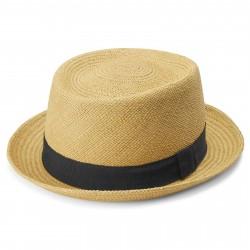 Fawler Paolo Pork Pie Moda Panama Hat