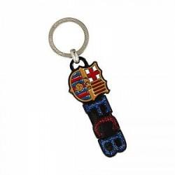 FC Barcelona Crest - glimmer nøglering - Multi-Color