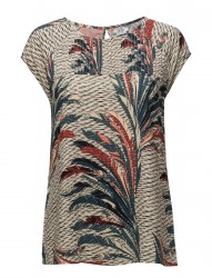 Feather Printed Top