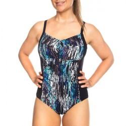 Femilet Honduras Swimsuit - Black pattern-2 * Kampagne *