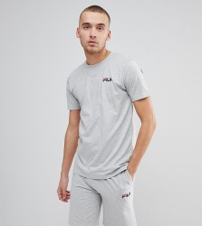 Fila Vintage Lounge T-Shirt With Logo In Grey - Grey