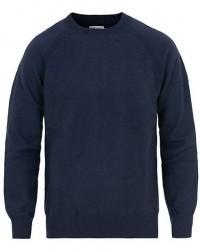 Filippa K Boiled Wool Sweater Navy