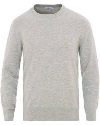 Filippa K Cotton Merino Basic Sweater Light Grey Melange men S