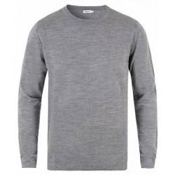 Filippa K Fine Merino R-Neck Pullover Grey Melange