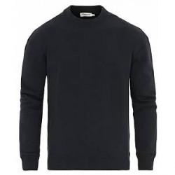 Filippa K Jersey Crew Neck Sweatshirt Navy
