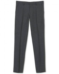 Filippa K Liam Cool Wool Slacks Grey Melange men 54 Grå