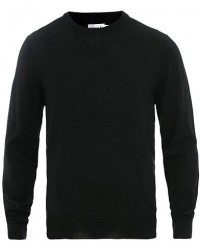 Filippa K Merino Round Neck Sweater Black men S Sort
