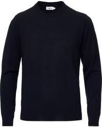 Filippa K Merino Round Neck Sweater Navy men S Blå