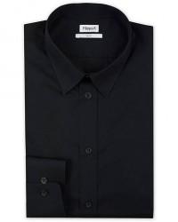 Filippa K Paul Stretch Ecologic Cotton Shirt Black