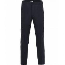 Filippa K Terry Cool Wool Slacks Hope Blue