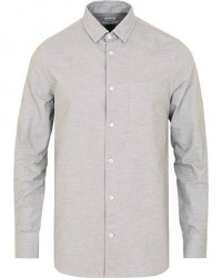 Filippa K Tim Oxford Shirt Grey Melange