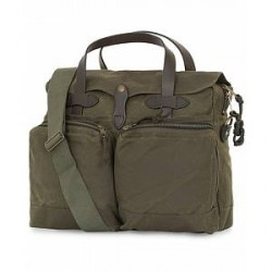 Filson 24-Hour Tin Briefcase Otter Green Canvas
