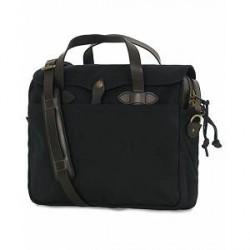 Filson Original Briefcase Black Canvas