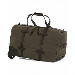 Filson Rolling Duffle Small Otter Green Canvas