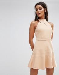 Finders Balance Dress - Tan