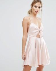 Finders Fernando Mini Dress - Pink