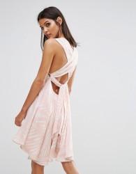 Finders I Spy Tie Back Dress - Multi