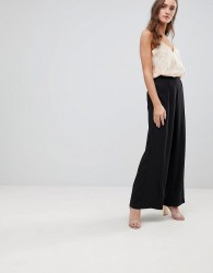 Finders Keepers Carry On Wide Leg Trousers - Black