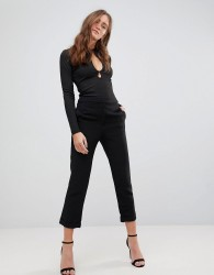 Finders Keepers Huntr Cropped Trousers - Black