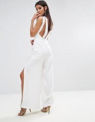 Finders Luca Jumpsuit - White