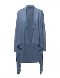 Fine Merino Wool Wrap Cardigan