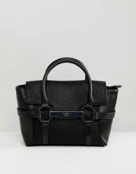 Fiorelli barbican small flapover tote bag - Black