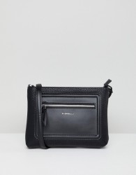 Fiorelli Bella Black Zip Front Cross Body Bag - Black