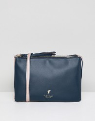 Fiorelli bunton double compartment crossbody bag - Navy